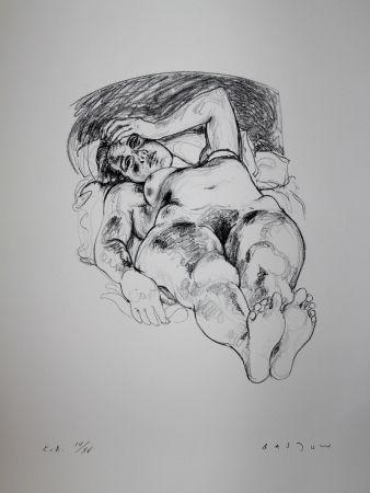 Litografía Bastow - Nu  Féminin / Female Nude - 1
