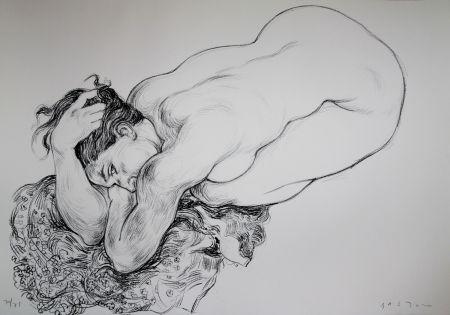 Litografía Bastow - Nu  Féminin / Female Nude - 2