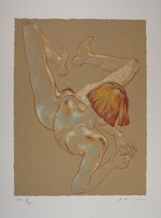 Litografía Bastow - Nu  Féminin / Female Nude - 3