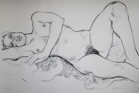 Litografía Bastow - Nu  Féminin / Female Nude - 5