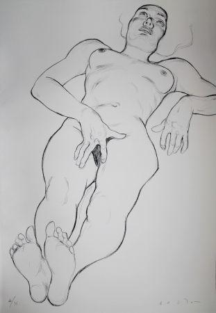 Litografía Bastow - Nu  Féminin / Female Nude - 6