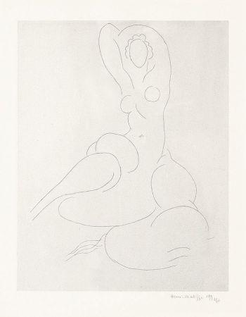 Grabado Matisse - Nu Pour Cleveland