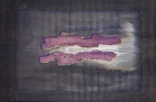 Litografía Fautrier - Nuage 1