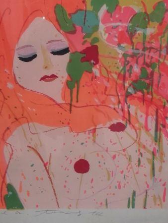 Litografía Ting - Nude