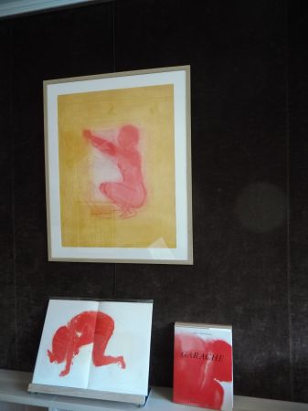 Litografía Garache - .Nude