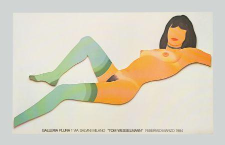 Litografía Wesselmann - Nude