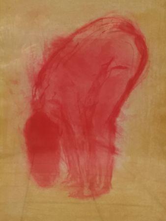 Litografía Garache - Nude figure
