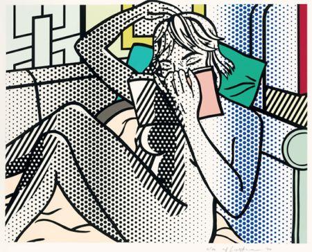 Relieve Lichtenstein - Nude Reading