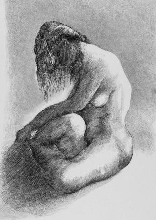 Aguafuerte Carrera - Nudo