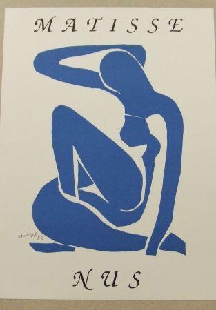 Litografía Matisse - Nus bleus