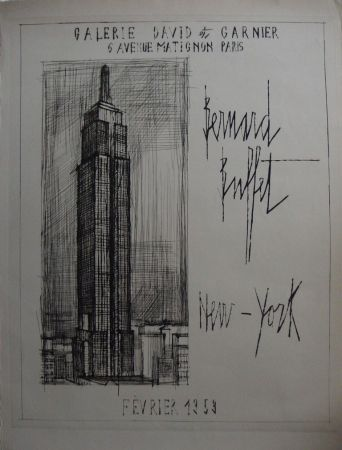 Grabado Buffet - NYC : Empire State Building