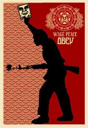Serigrafía Fairey - Obey '04, from Retro Series
