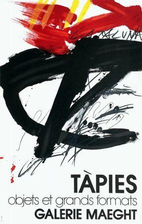Litografía Tàpies -