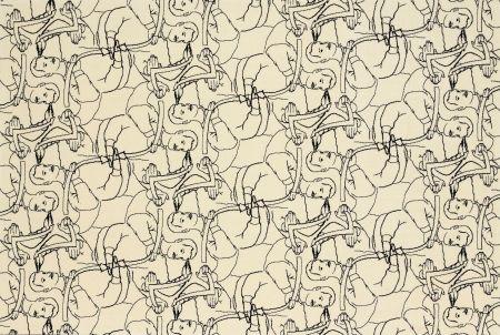 Litografía Dheedene - Octopus - White