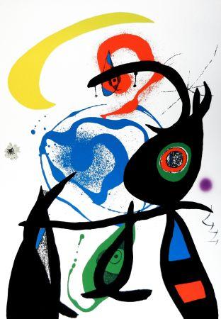 Litografía Miró - Oda a Joan Mirò