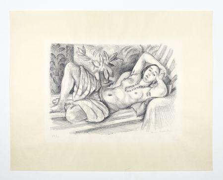 Litografía Matisse - Odalisque Au Magnolia