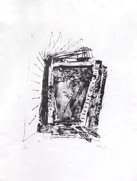 Litografía Barcelo - Odyssee