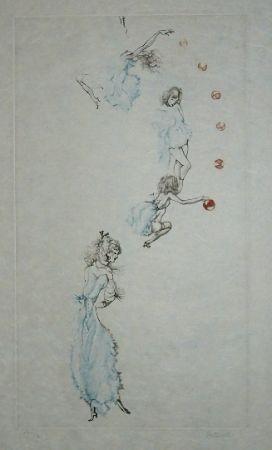 Aguafuerte Y Aguatinta Bellmer - Oeillades ciselées 10