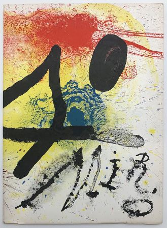 Libro Ilustrado Miró - Oeuvre graphique original - céramiques (1961)