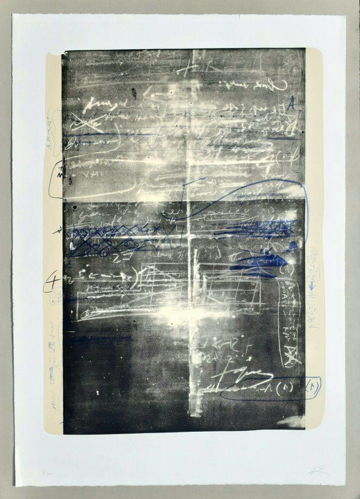Litografía Tàpies - Oeuvre gravè
