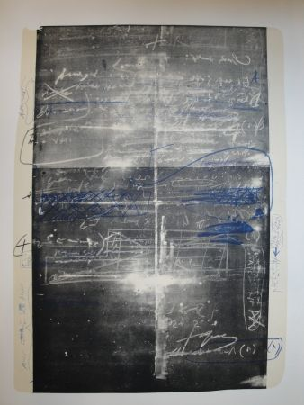 Litografía Tàpies - Oeuvre gravé