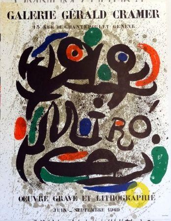Litografía Miró - Oeuvre Grave Et Lithographie