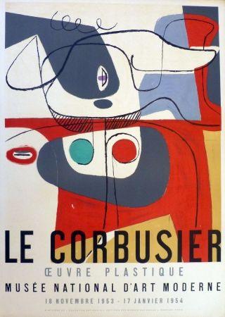 Litografía Le Corbusier - Oeuvre plaastique, musée national d'art  moderne de la ville de Paris
