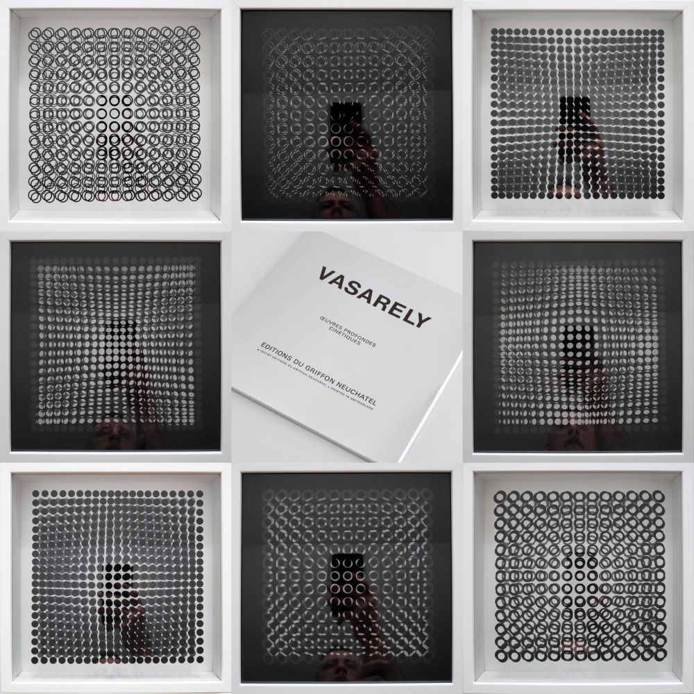 Múltiple Vasarely - Oeuvres Profondes Cinetiques