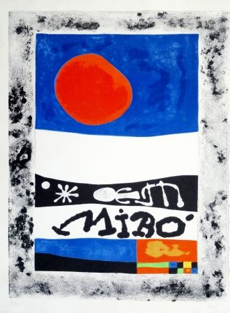 Litografía Miró - Oeuvres Récentes, 1953