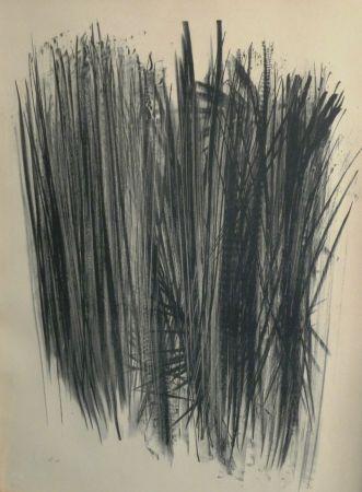 Litografía Hartung - Ohne titel