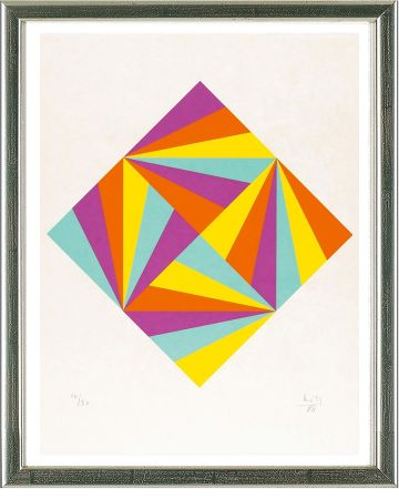 Serigrafía Bill - Ohne Titel (Rhombus)