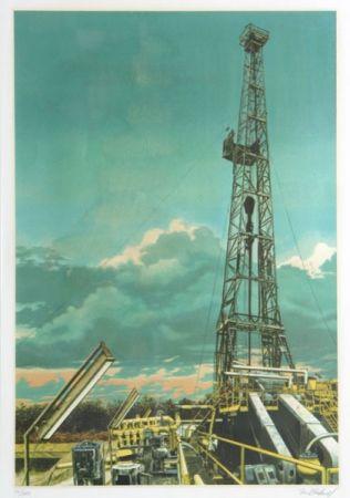 Serigrafía Blackwell - Oil Well