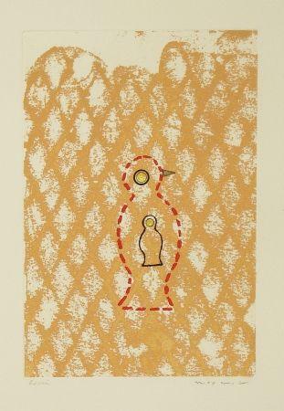 Aguafuerte Y Aguatinta Ernst - Oiseau