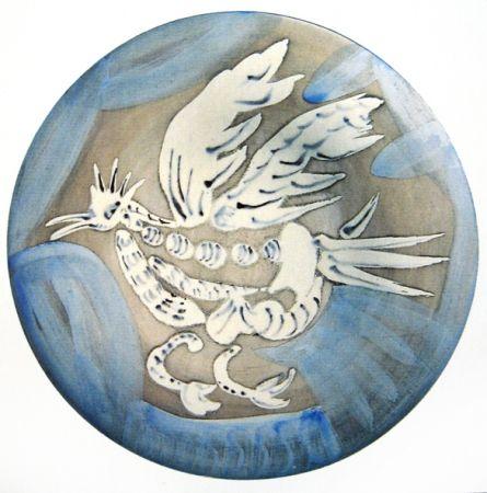 Cerámica Picasso - Oiseau 91