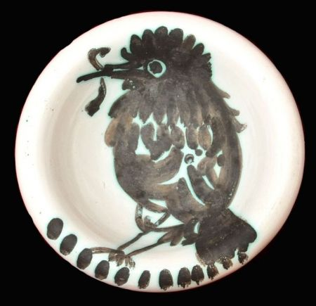 Cerámica Picasso - Oiseau au ver