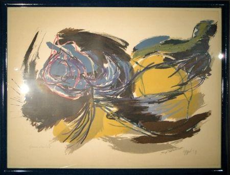 Litografía Appel - Oiseau de l'aube