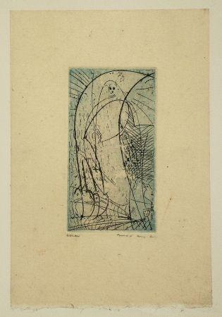 Aguafuerte Y Aguatinta Ernst - Oiseau vierge