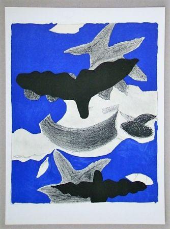 Litografía Braque (After) - Oiseaux