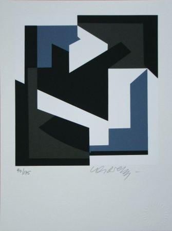 Serigrafía Vasarely - OLBIO II