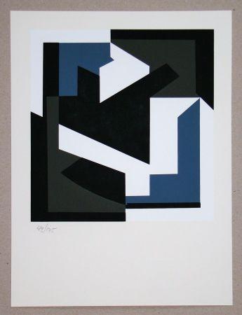 Serigrafía Vasarely - Olbio II.