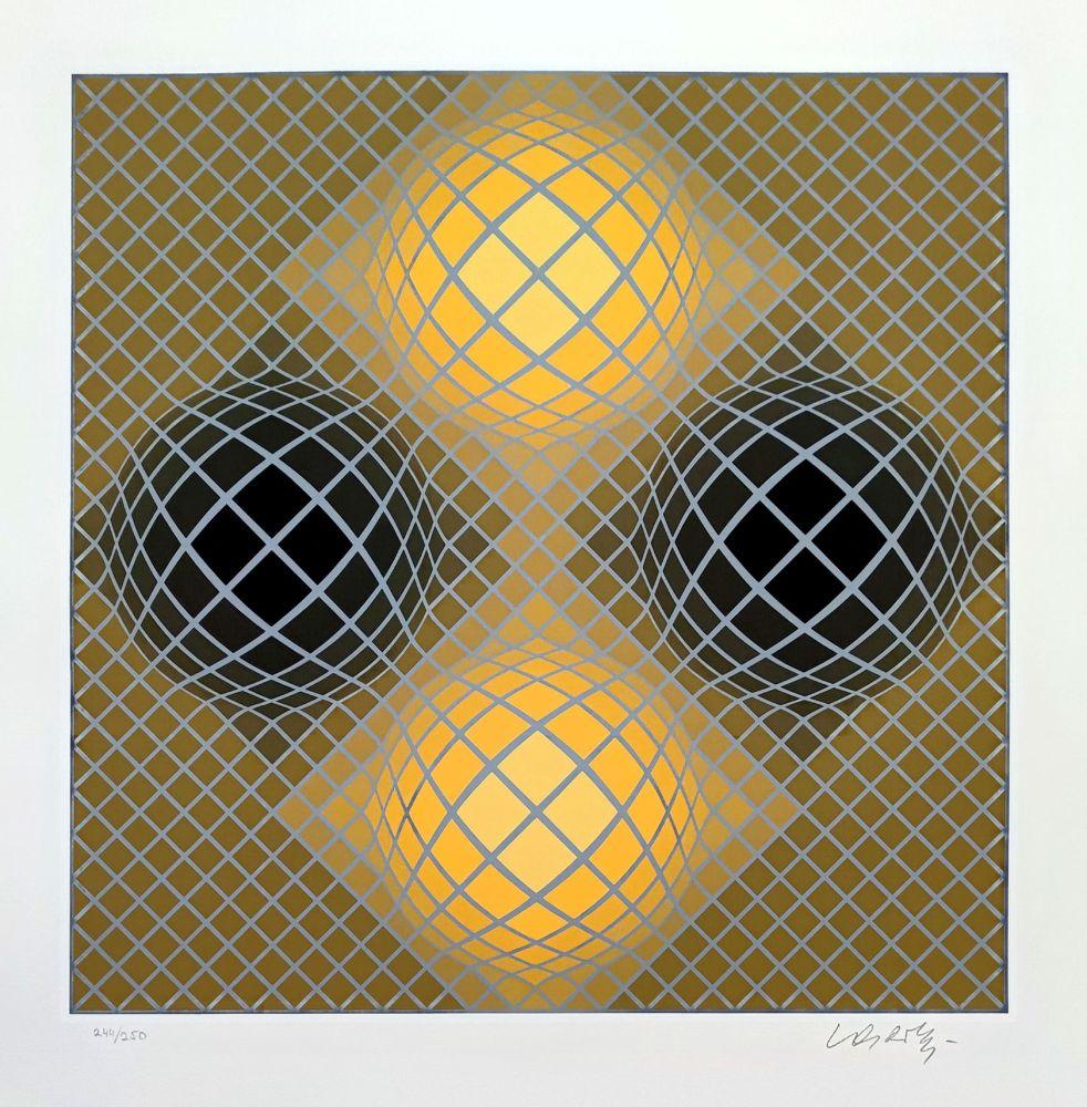 Múltiple Vasarely - Olla