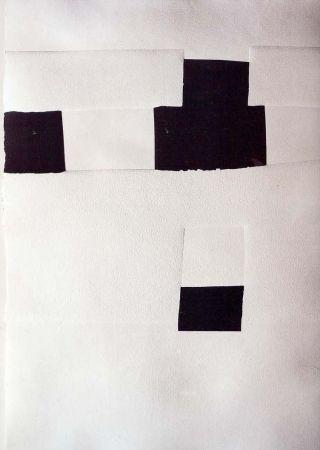 Litografía Chillida - Olympique 92