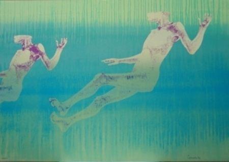 Litografía Cremonini - Olympique 92