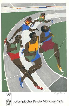 Serigrafía Lawrence - Olympische Spiele München 1972 (The Runners)