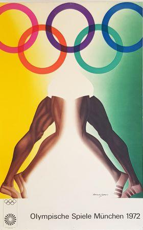 Cartel Jones - Olympishe  Spiele  Munchen  1972
