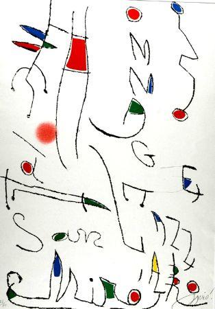Aguafuerte Y Aguatinta Miró - Omage a San Lazzaro