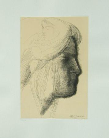 Grabado Greco - Omaggio a Michelangelo