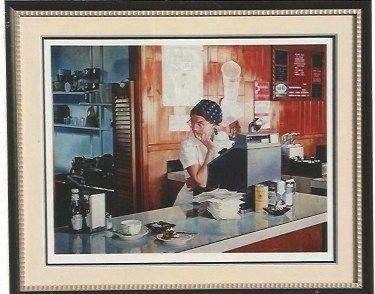 Serigrafía Goings - One Eleven Diner