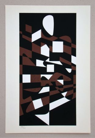 Serigrafía Vasarely - Onega II.