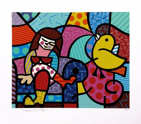 Serigrafía Britto - ONLY YOU CAN HEAR